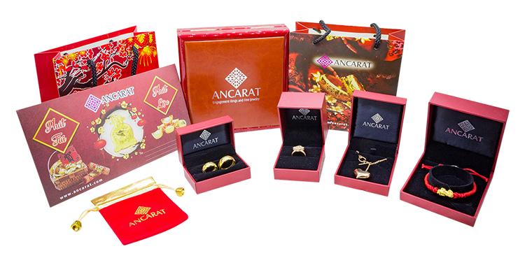 Vòng Tay Dây Da Vàng 24K Mèo Thần Tài - ANCARAT