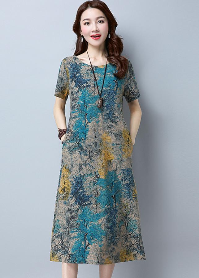 Đầm nữ dáng dài Haint Boutique 145 3