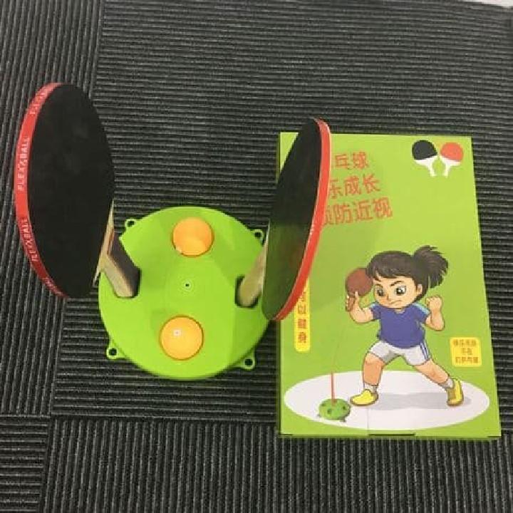 Bóng bàn tập phản xạ lắc lư cho bé - tặng kèm 3 trái bóng 2