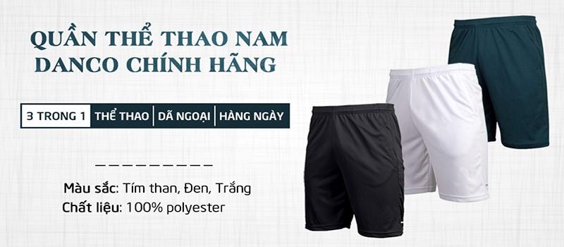 Quần Thể Thao Nam Danco QC187