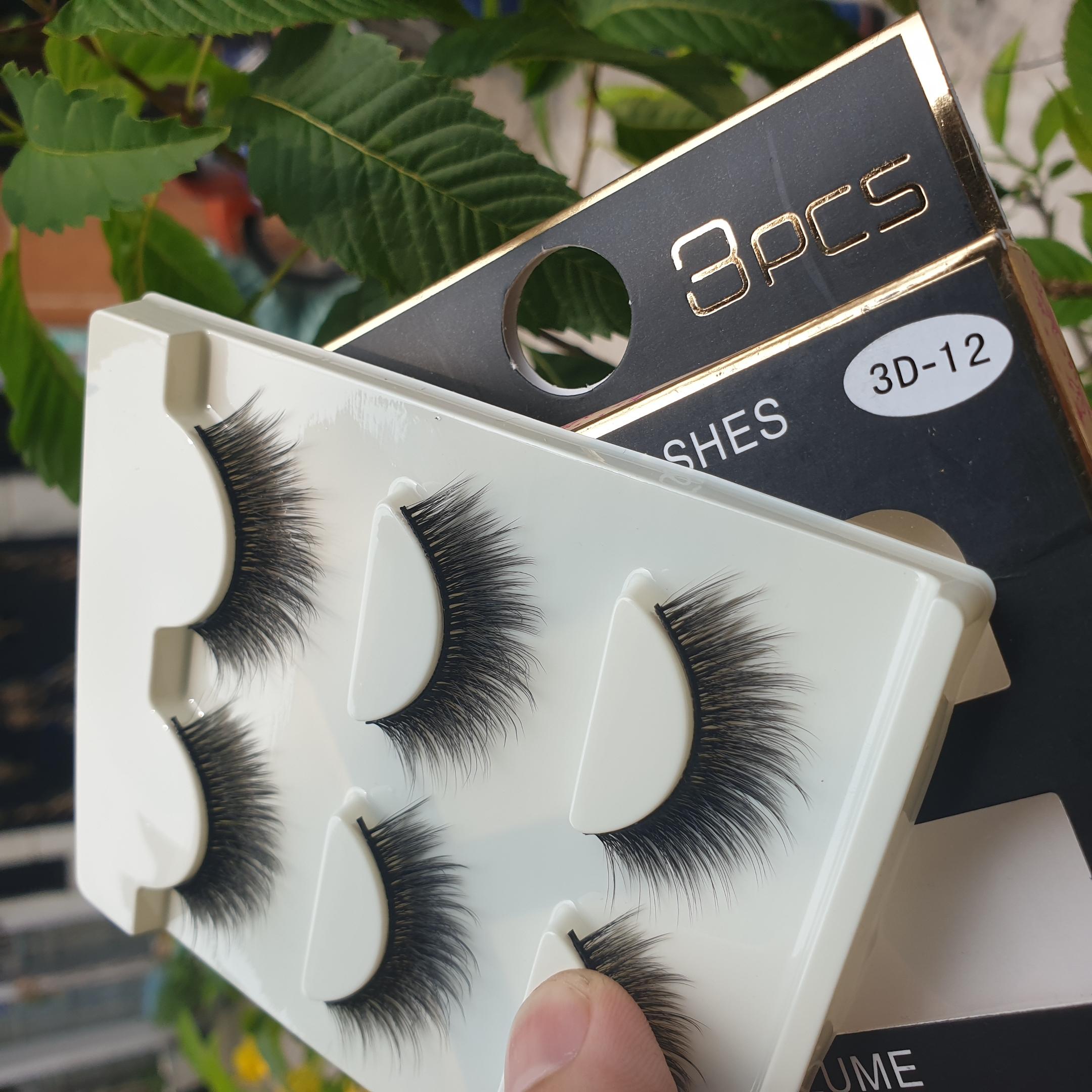 Lông mi giả lông chồn 3 Fashion Eyelashes 3 Faux-Cils 3D 1 bộ 3 cặp 49