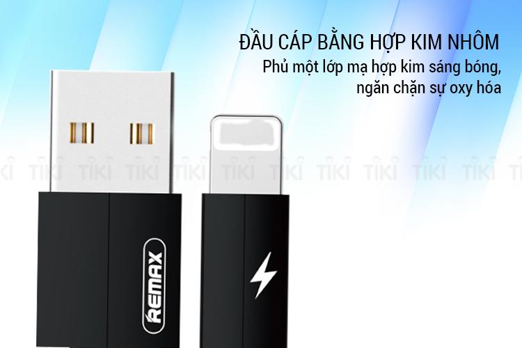 Cáp Remax Kerolla Sạc Cho iPhone/iPad (Đen)