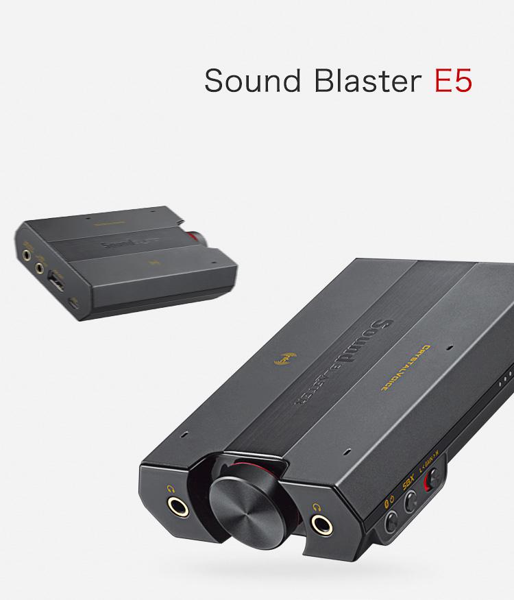 Card Âm Thanh Creative Sound Blaster E5