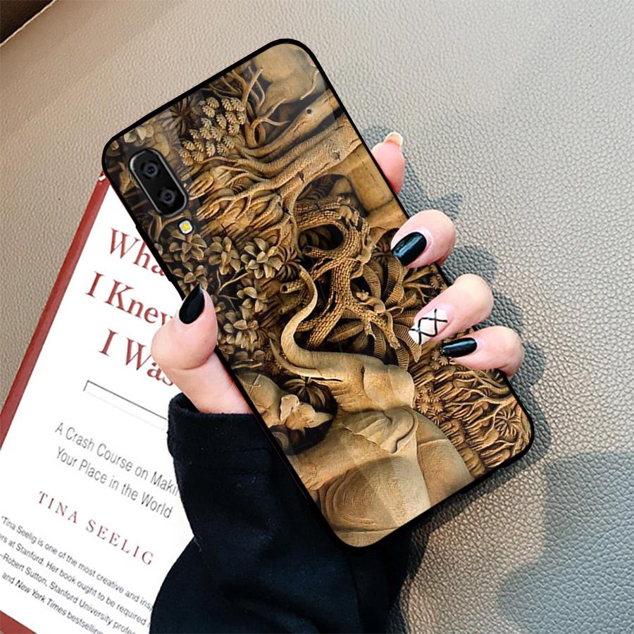 Ốp điện thoại dành cho máy Samsung Galaxy A70 - hình Điêu Khắc MS DKHAC030
