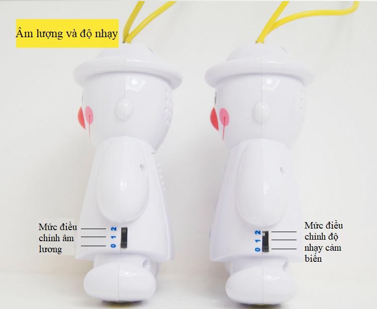 Bộ máy báo khóc cho trẻ em TS-350 - Tặng kèm 02 móc dán tường 3D 3