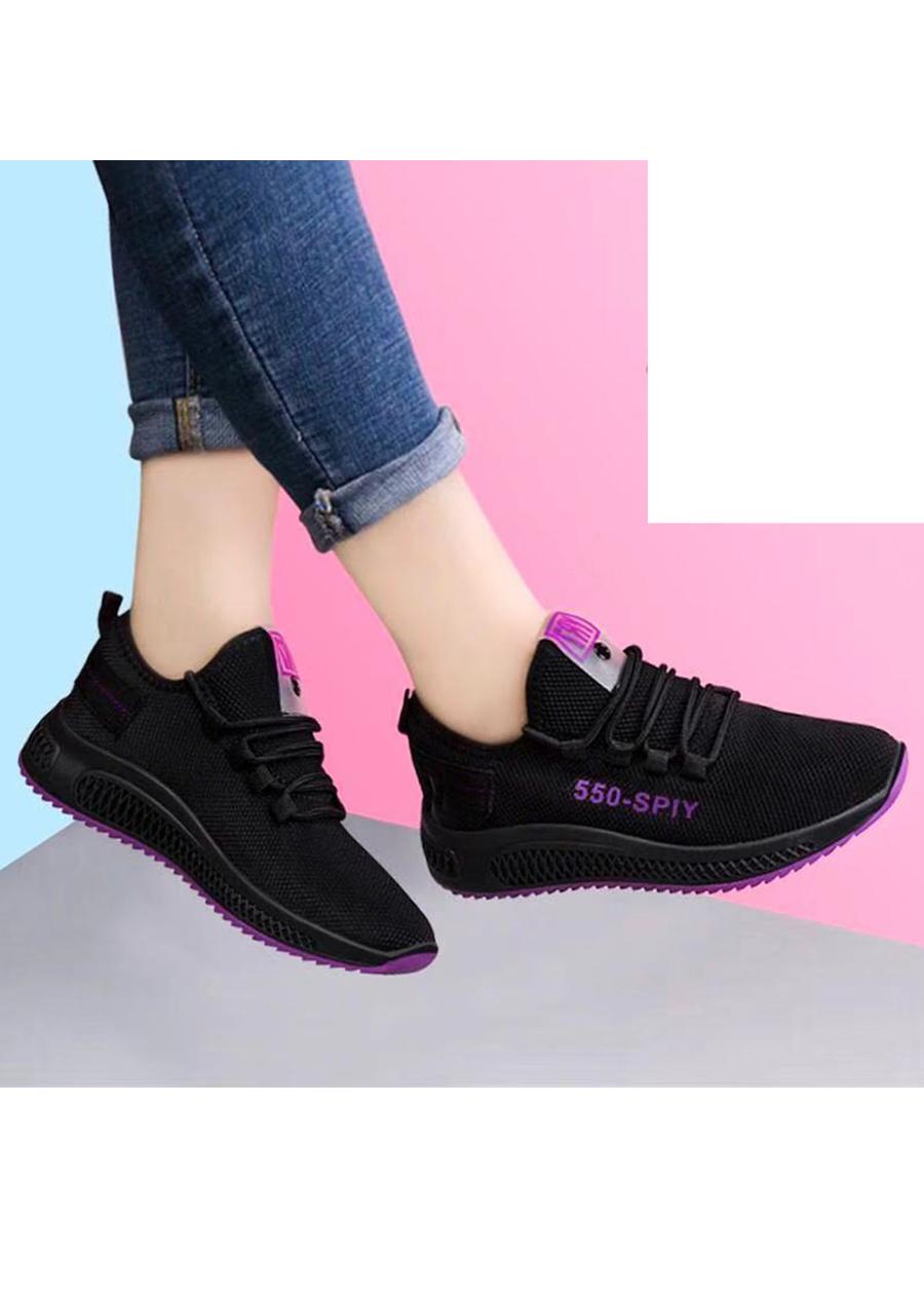 Giầy sneaker nữ phong cách thể thao buộc dây 202 7