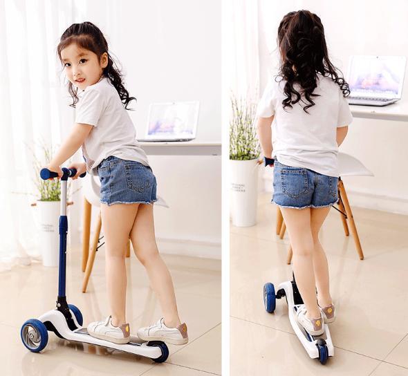 Xe Trượt Scooter Điện Cao Cấp (Giao Hàng Theo Mẫu Ngẫu Nhiên) 3