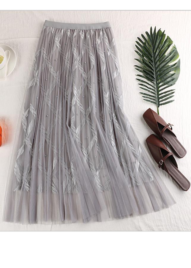 Chân váy ren Tutu ren thừng sang trọng hàng cao cấp VAY20 Free size 8