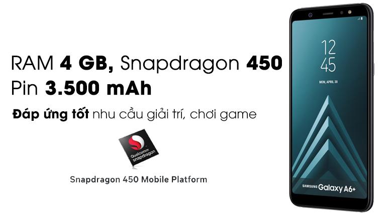 Điện Thoại Samsung Galaxy A6 Plus (2018) - Hàng Chính Hãng