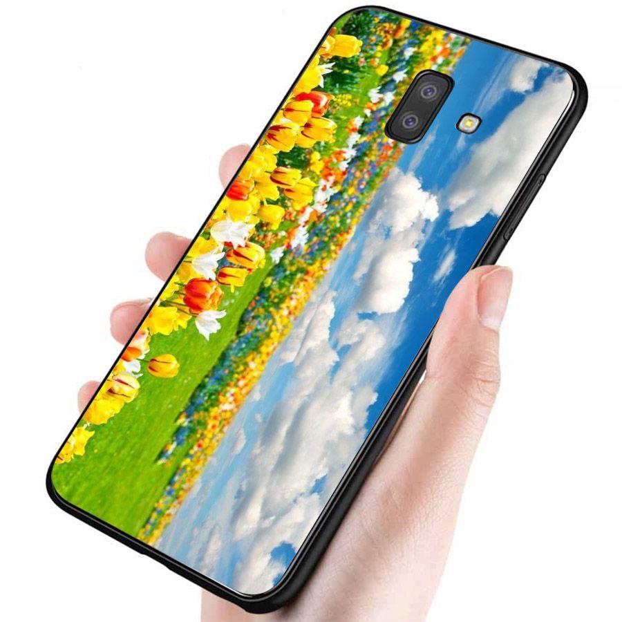 Ốp lưng điện thoại Samsung Galaxy J4 - Vườn Hoa MS VHOA041