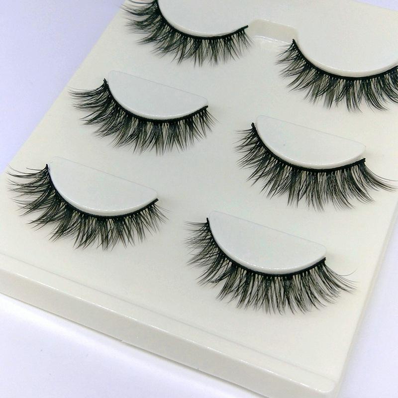 Lông mi giả lông chồn 3 Fashion Eyelashes 3 Faux-Cils 3D 1 bộ 3 cặp 67