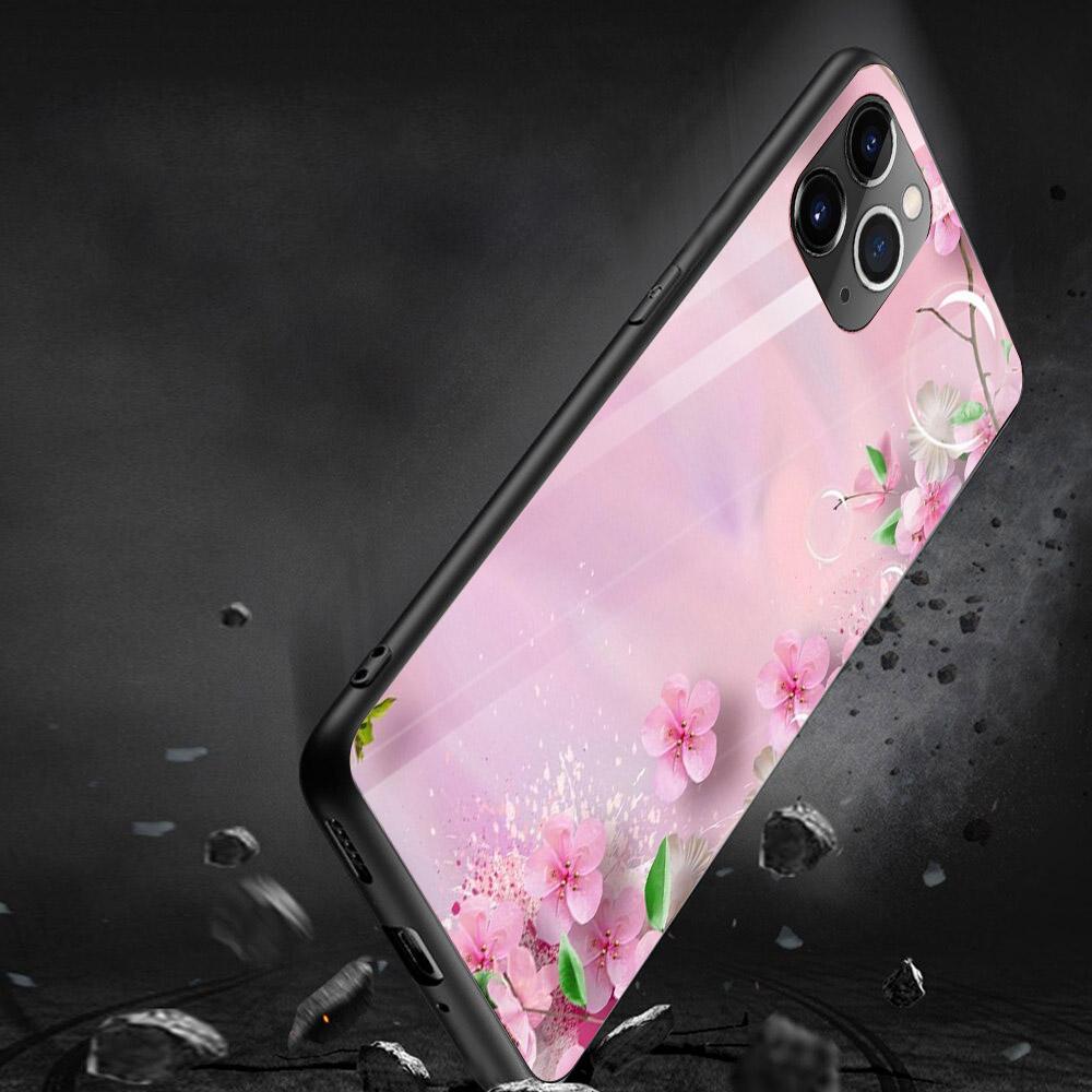 Ốp kính cường lực cho điện thoại iPhone 11 Pro Max Pro Max Pro Max - ĐÊM GIÁNG SINH MS DGS004