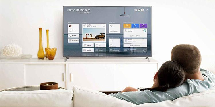 Smart Tivi LG 4K 43 inch 43UN7400PTA Mới 2020 - Hàng Chính Hãng