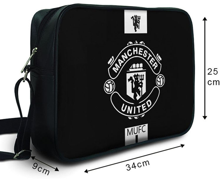 Túi Đeo Chéo Hộp Unisex Manchester United -TCST022