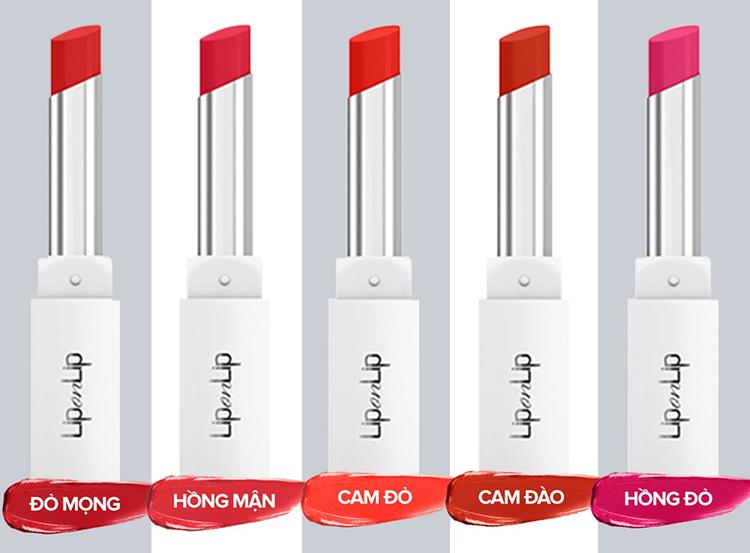 Son trang điểm dưỡng tối ưu Lip On Lip Water Color 2.2g