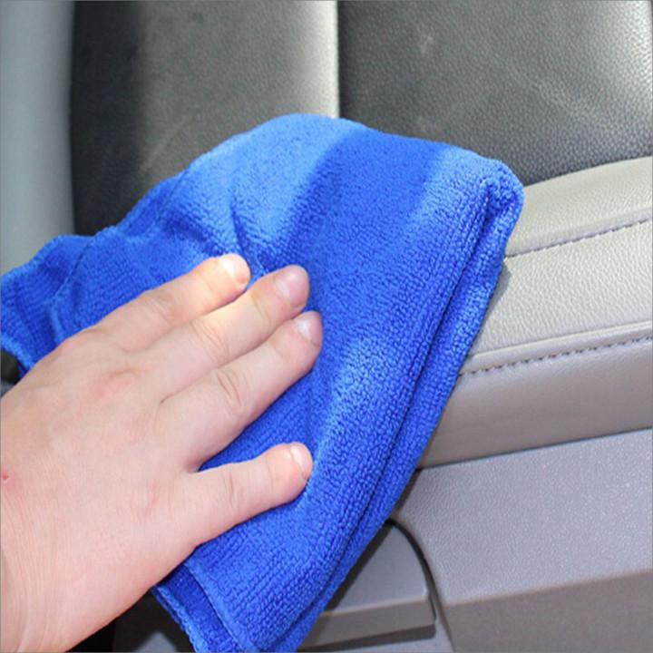 Combo 10 khăn mềm lau dọn (30 x 30 cm) + kèm 1 set 3 móc dán hình ô=95.799 ₫
