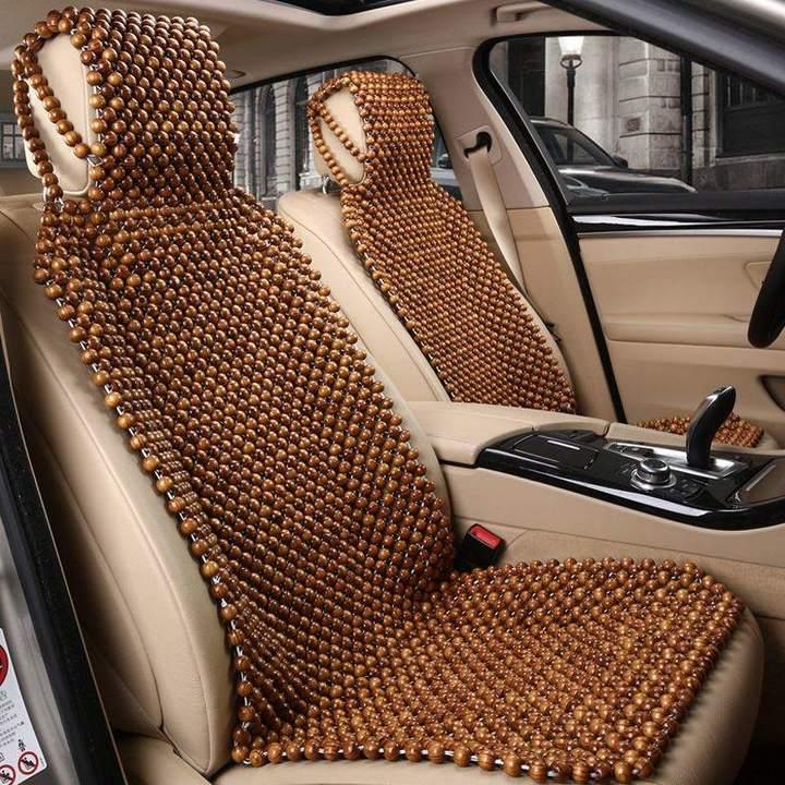 Hạt gỗ giúp bảo vệ ghế xe của bạn