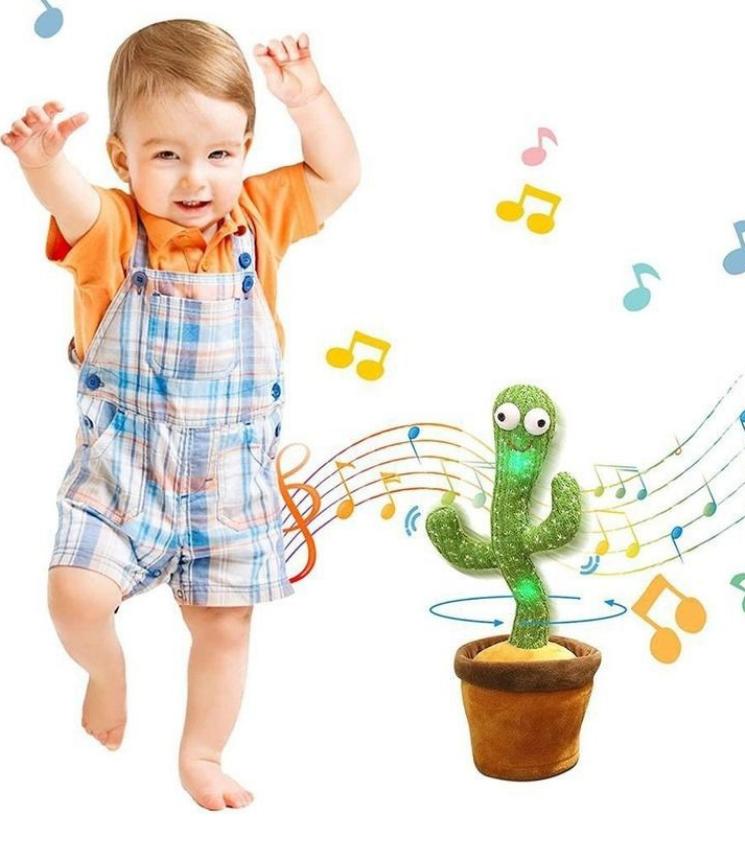 Đồ chơi cây xương rồng nhẩy múa vui nhộn cho bé 2