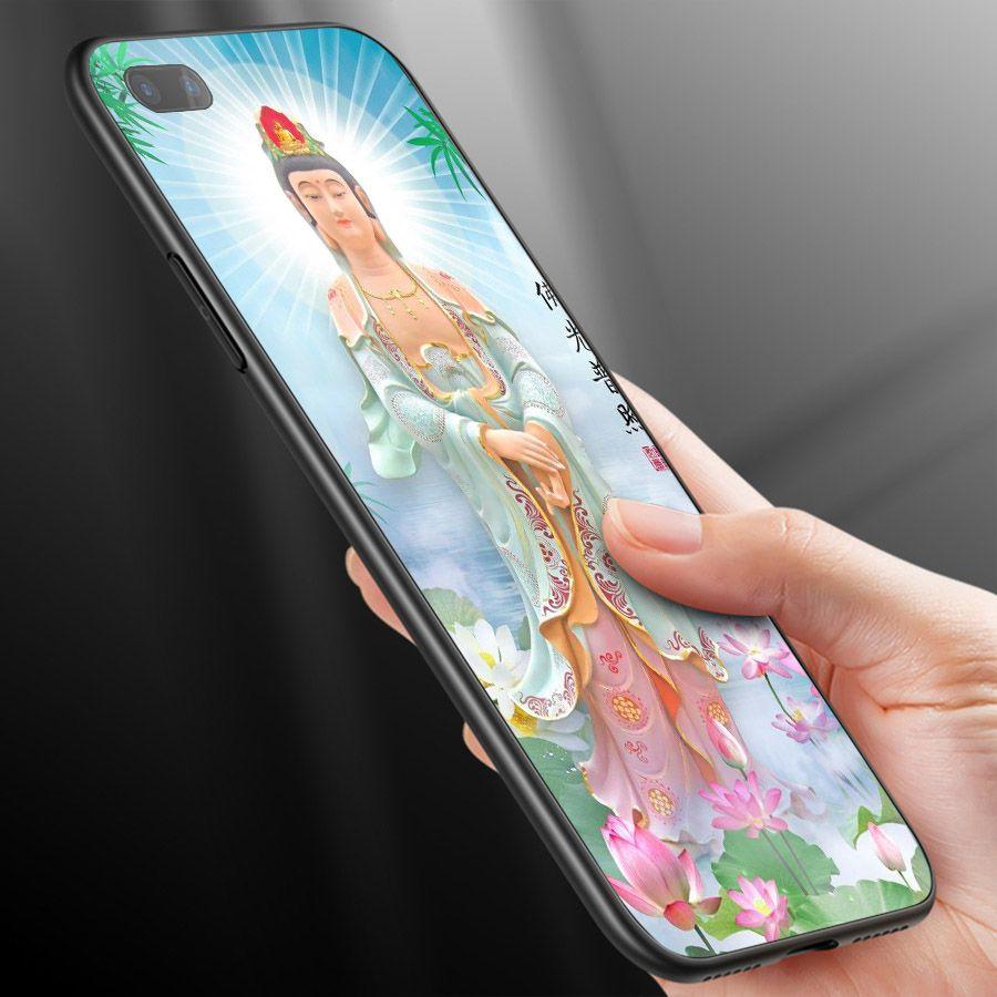 Ốp kính cường lực cho điện thoại Oppo Realme C1 - Tôn giáo MS TGIAO070
