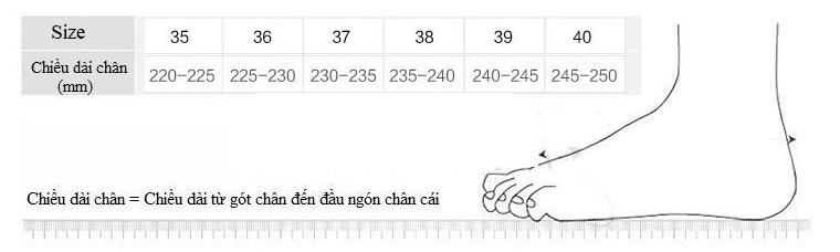 Giày Cao Gót Vuông GCG04 (3 Phân) 1