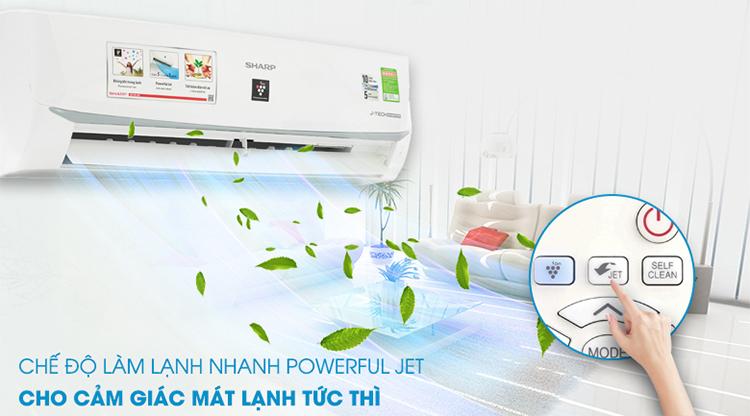 Máy Lạnh Inverter Sharp AH-XP10WMW (1.0HP)