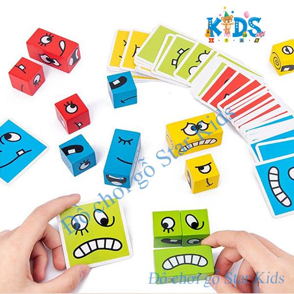 Đồ Chơi Rubik Nhiều Cảm Xúc Cho Bé Rèn Luyện Tư Duy Phản Xạ 2