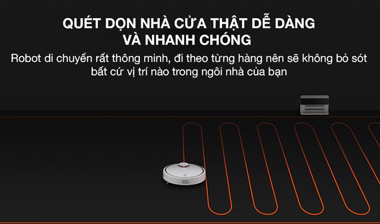 50f7541ee70194bef13dba52adc2d526 Robot Hút Bụi Xiaomi SKV4022GL Mi Robot Vacuum - Hàng Chính Hãng