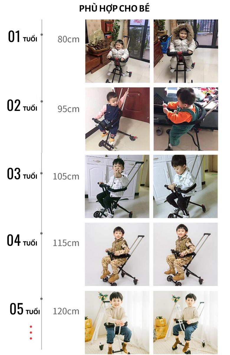 Xe Đẩy Gọn Nhẹ Orrbic toys CODY V2 16