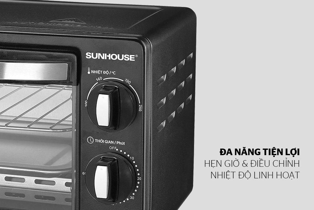 Lò Nướng Điện Sunhouse SHD4206 (10L) - Hàng chính hãng