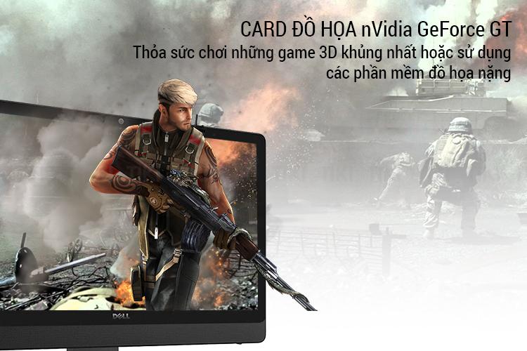 Máy Tính Để Bàn PC AIO Dell Inspiron 5459C Core i5-6400T/Touch