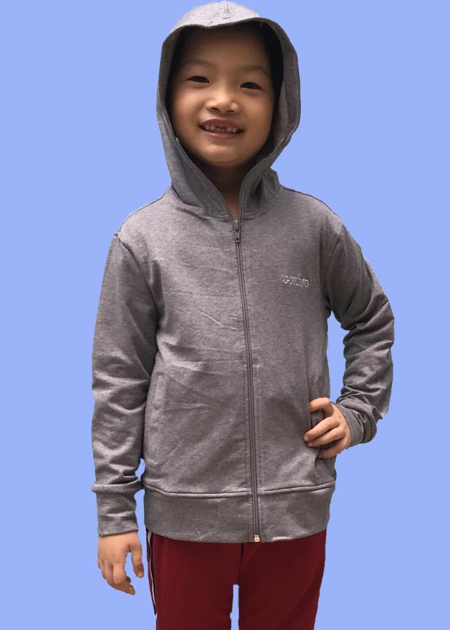 Áo khoác nữ GOKING vải da cá dày 100% cotton, thích hợp chống nắng và giữ ấm hiệu quả 6