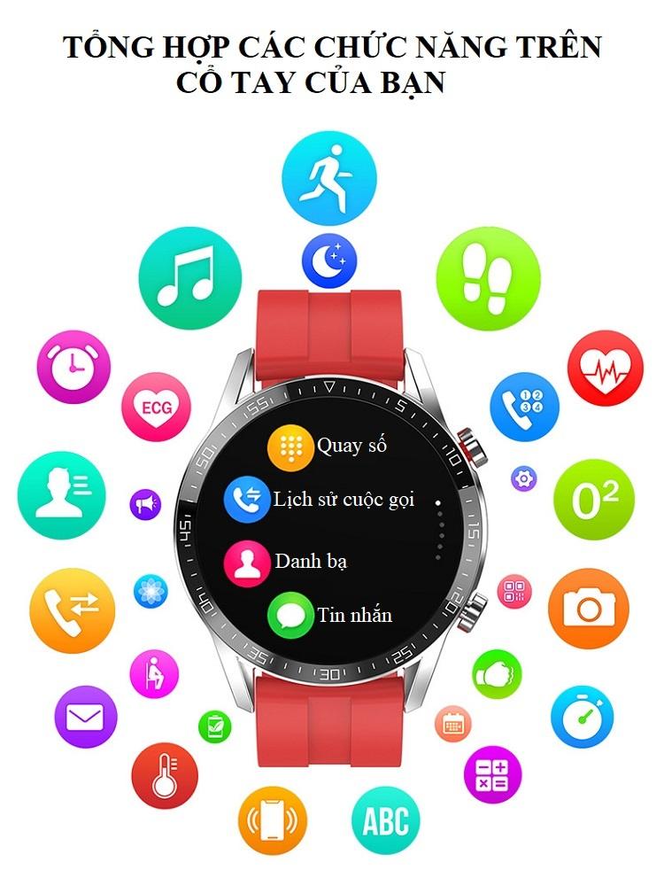 Đồng hồ theo dõi Sức khỏe cao cấp 1.3 -Theo dõi và nhắc nhở vận động 11