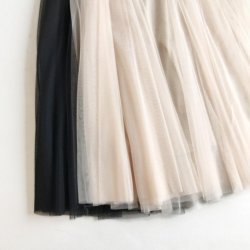 Chân váy lưới tutu xòe nhiều tầng VAY49 free size 4
