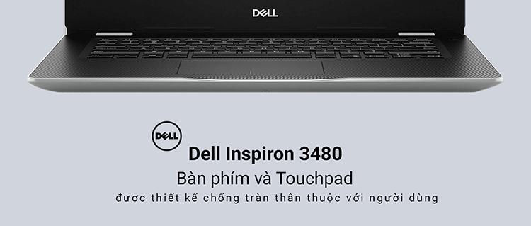 Laptop Dell Inspiron 3480 NT4X01 Core i3-8145U/ Win10 (14 HD) - Hàng Chính Hãng