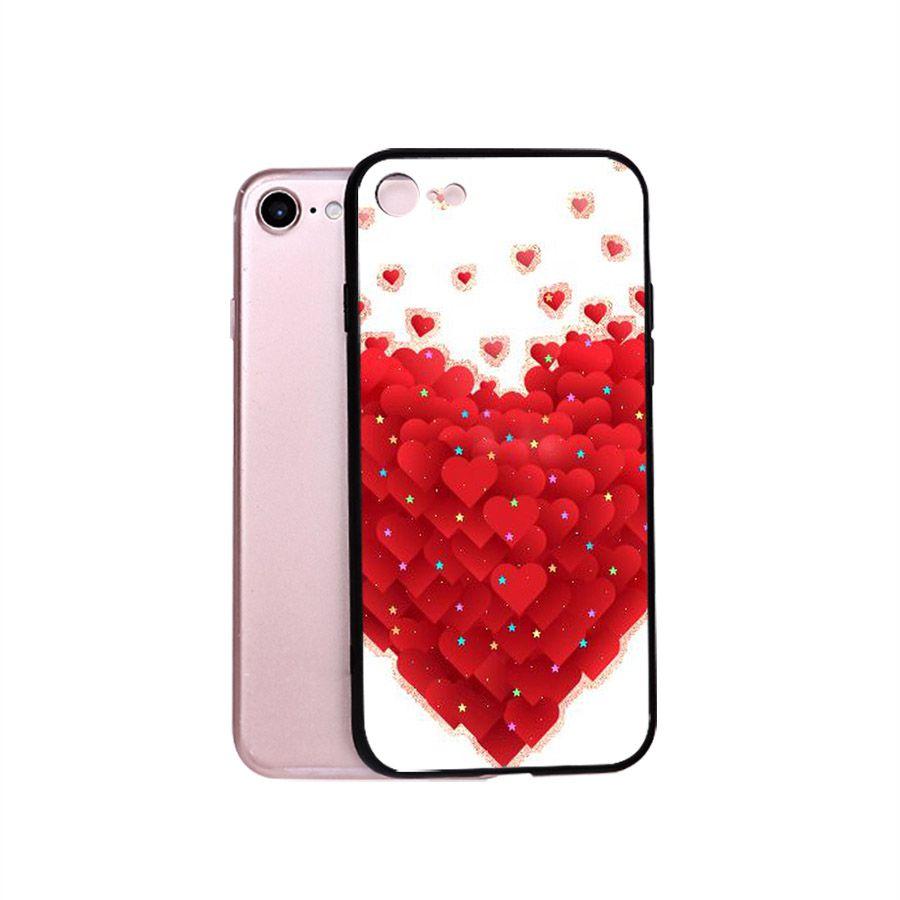 Ốp điện thoại dành cho máy iPhone 5/5s/se - trái tim tình yêu MS LOVE033