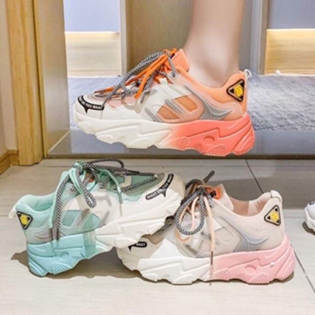 Giày thể thao nữ đế phối 1 2 màu cực chất 6