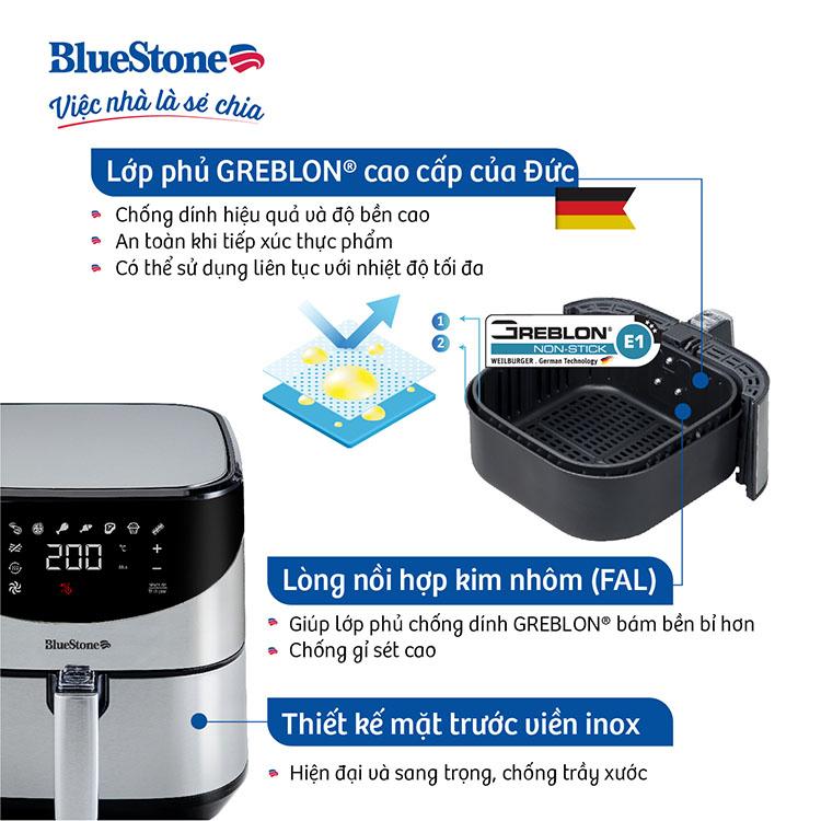 Nồi Chiên Không Dầu BlueStone AFB-5880 (5,5 Lít) - Hàng Chính Hãng