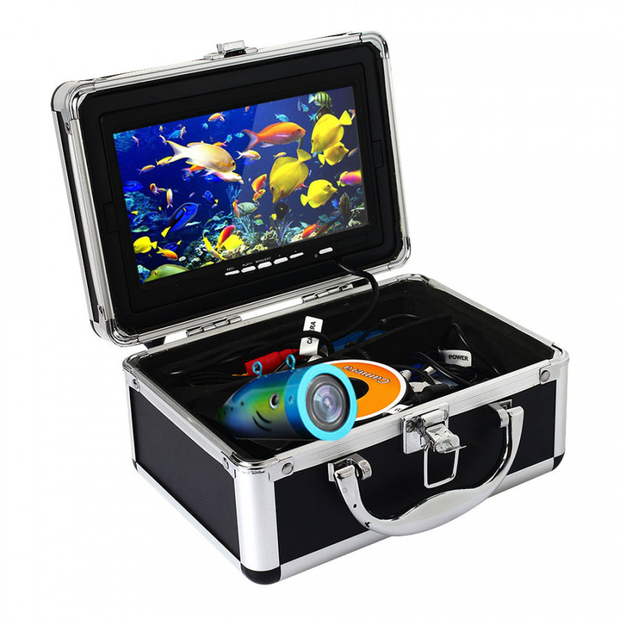 Fishing Camera Fish Finder Durable 15M 4500mA LED Fishing Accessories