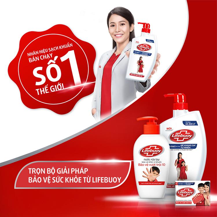 Sữa Tắm Lifebuoy Bảo Vệ Vượt Trội 32000080 (850g)