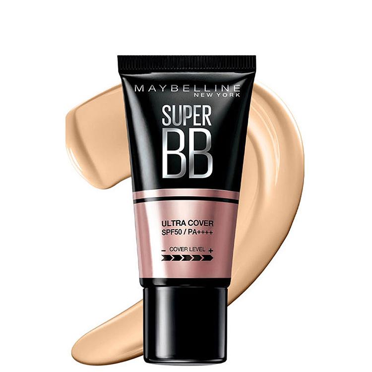 Kem Nền Maybelline Super BB Ultra Cream Cover SPF50 PA++++ 30ml Trang Điểm Hoàn Hảo PM711 11