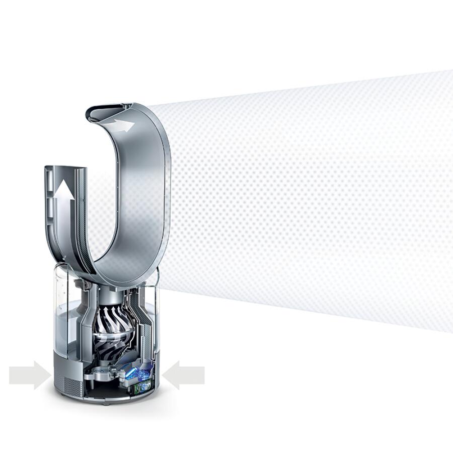 Dyson AM10 Humidifier & Fan 2 in 1 Germ-free Mute Silver