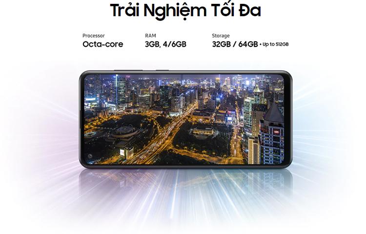 Điện Thoại Samsung Galaxy A21s - Hàng Chính Hãng