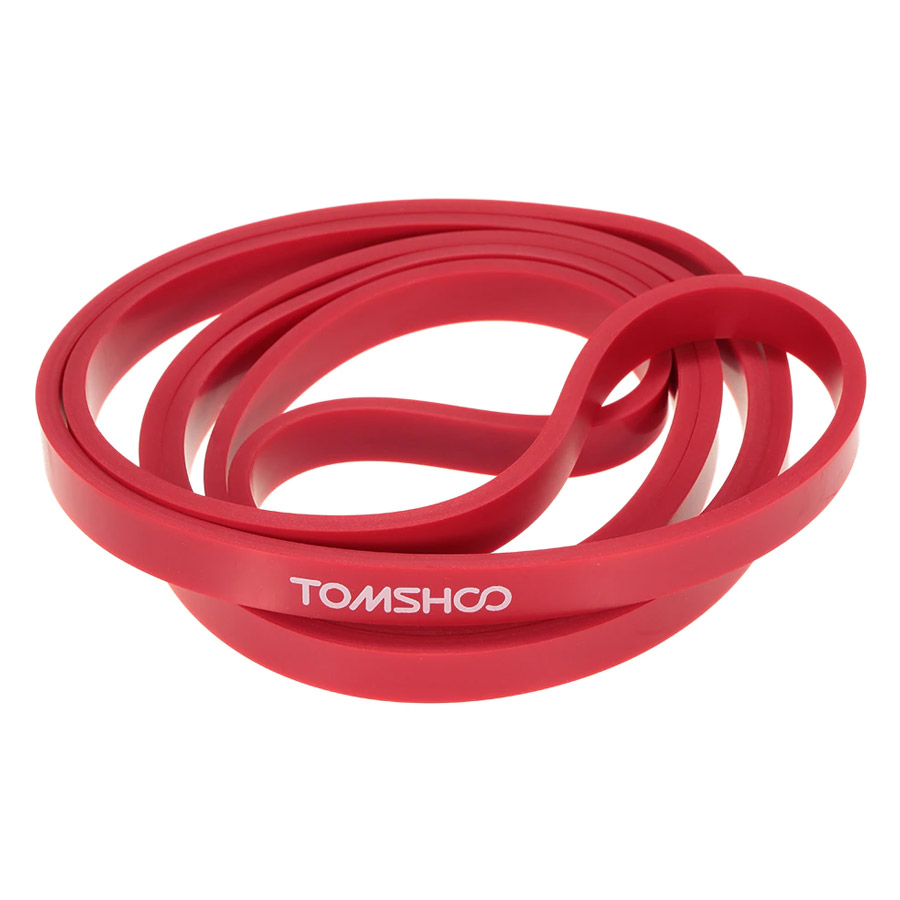 TOMSHOO 208cm Workout Loop Band Pull Up Assist Band Stretch Resistance Band Powerlifting Bodybulding Yoga Exercise
