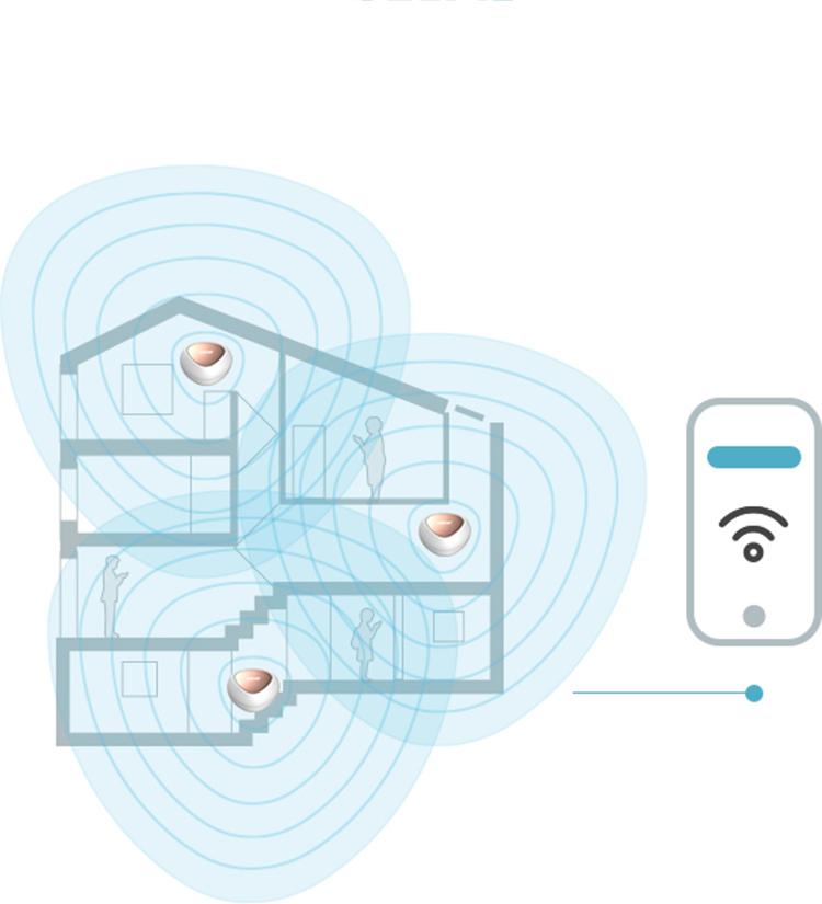 Router Wifi Băng Tầng Kép D-Link DIR-825+ Chuẩn AC1200 - Hàng Chính Hãng