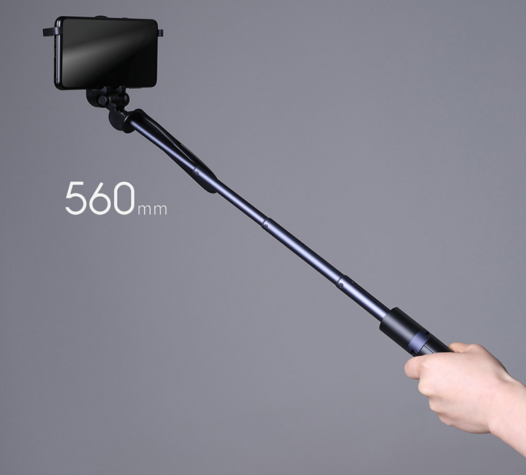Xiaomi Mijia Yuemi Selfie Stick Portable Foldable BT Extendable Tripod Monopod Self Shooting Stick with Video Stabilizer - Black