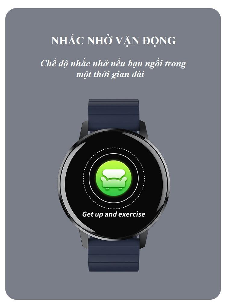 Đồng hồ thông minh đo nhịp tim, theo dõi sức khỏe T4 Pro ( Thiết kế sang trọng, chống nước cao IP68 ) - Hàng Nhập Khẩu 2