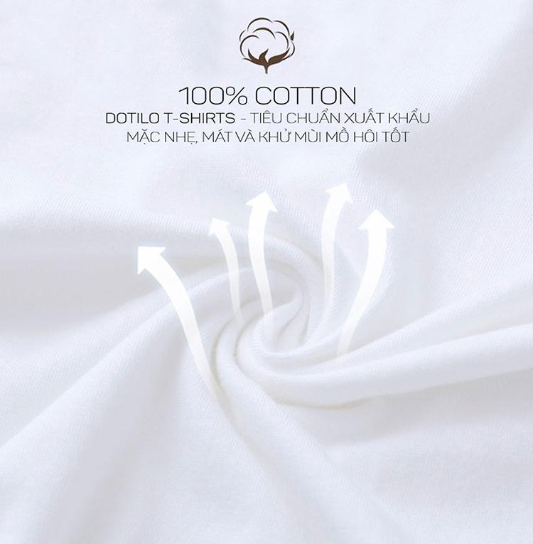 Áo T-Shirt Unisex Dotilo Fashion Girl - B331