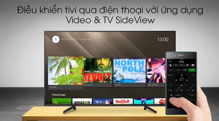 Android Tivi Sony 49 inch 4K UHD KD-49X8000G