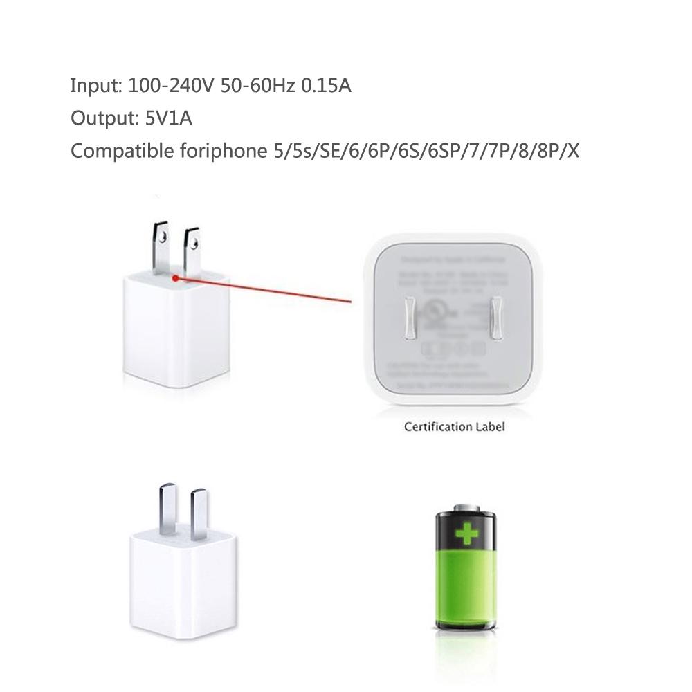 Sạc Chính Hãng Cho iPhone Apple Plug