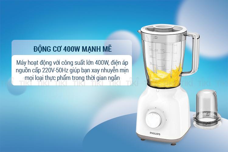 Máy Xay Sinh Tố Philips HR2108 400W (1.5L)